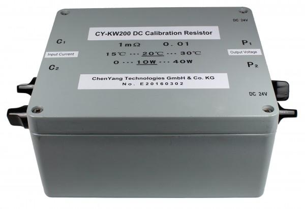 DC Kalibrierwiderstand CY-KW200